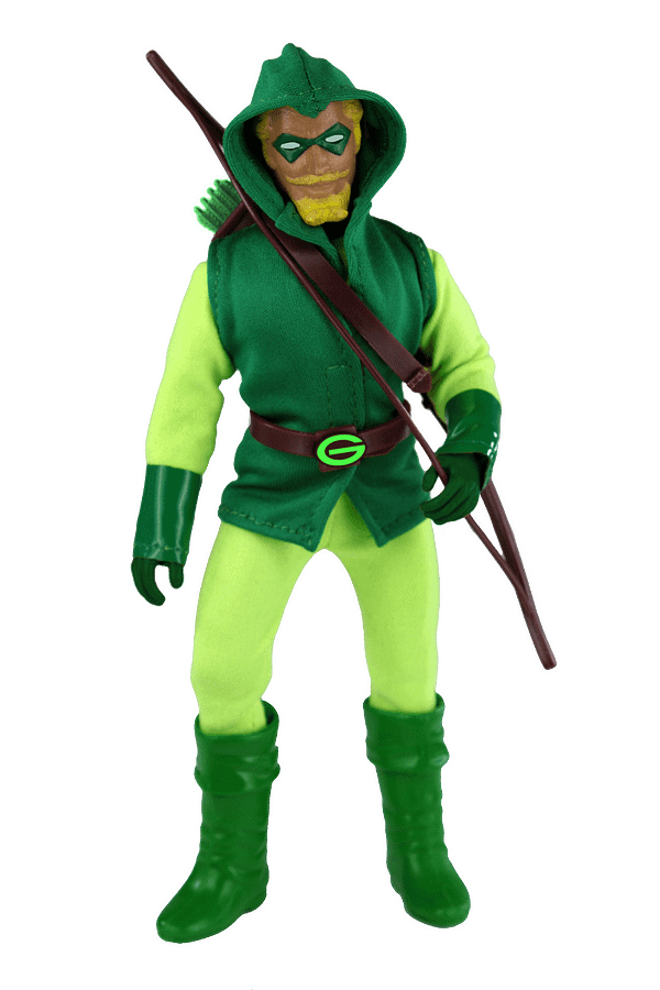 Mego Reveals Topps Two New Exclusive DC Comics Figures
