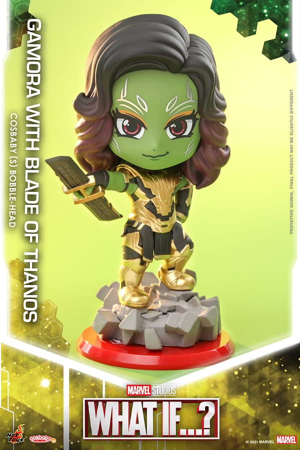Hot Toys Reveals Marvel What If…? Infinity Ultron and Gamora Cosbaby