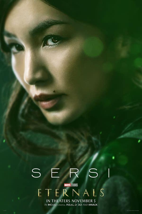 Eternals: Tickets On Sale, Character Posters, Featurette, TV Spots