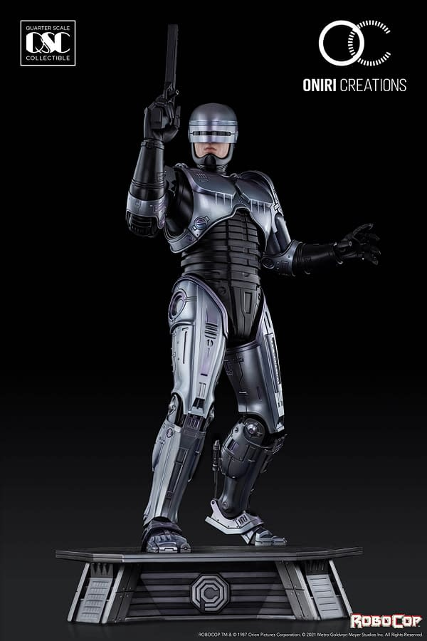 RoboCop Protects and Serves with New 1/4th Oniri Creations Statue