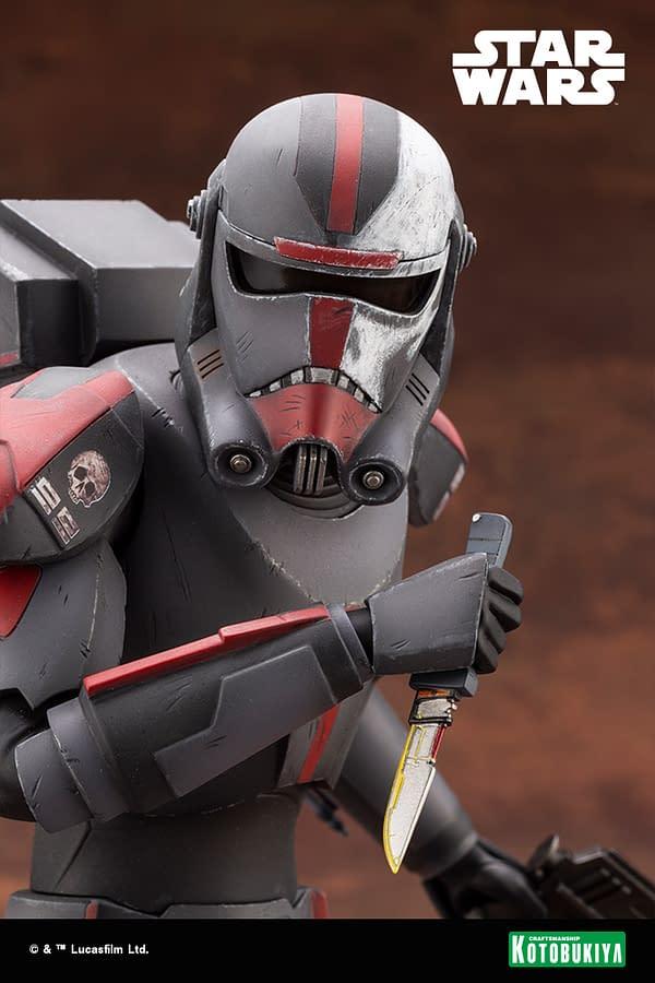 The Bad Batch Hunter Receives New Star Wars Kotobukiya Statue