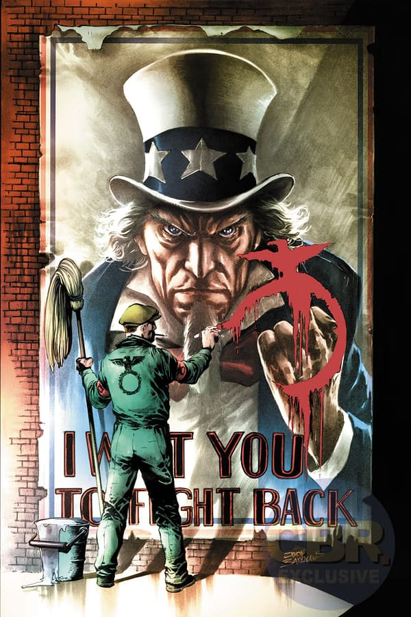 Another Tick On The Checklist – Rob Venditti And Eddy Barrows Launch Freedom Fighters From DC Comics