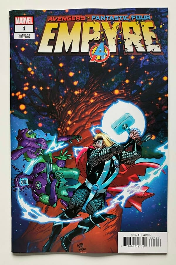 Marvel Comics Recycle Cancelled Empyre Comics Covers.