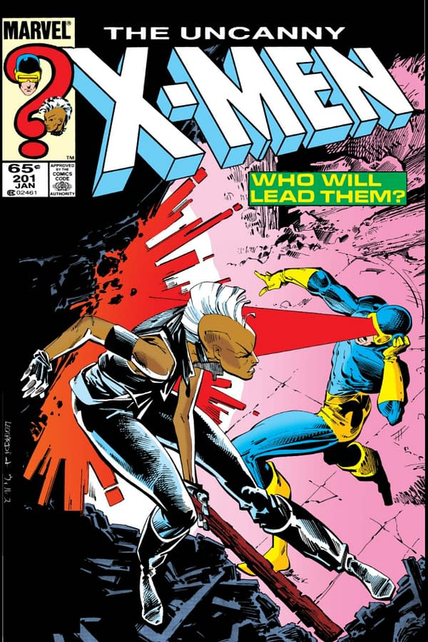 The cover to Uncanny X-Men #201, which Chris Claremont talks about in his AMA