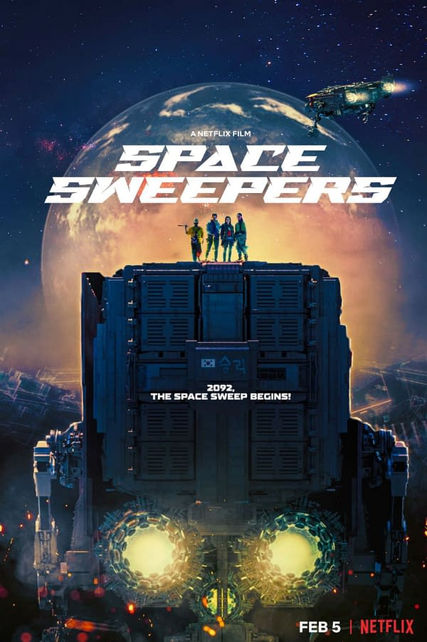 Space Sweepers: Netflix Announces Release Date and New Trailer