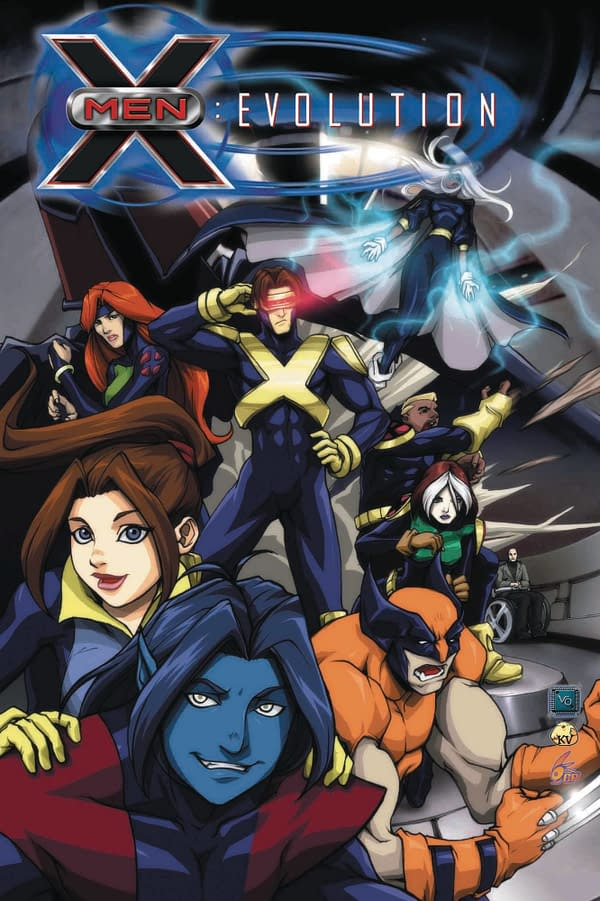 Marvel Tells Retailers To Print X-Men: Evolution TPB Misprint Page