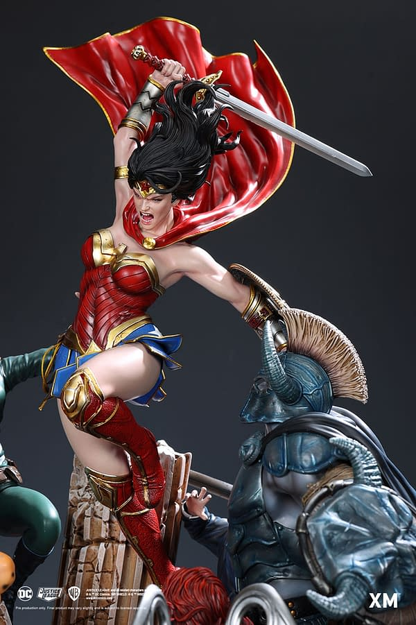 Wonder Woman Faces Her Fears With XM Studios Newest DC Statue