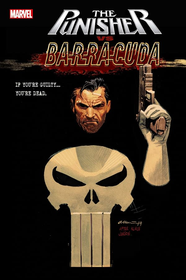 Ed Brisson and Declan Shalvey Bring Barracuda to Marvel Universe in Punisher vs. Barracuda