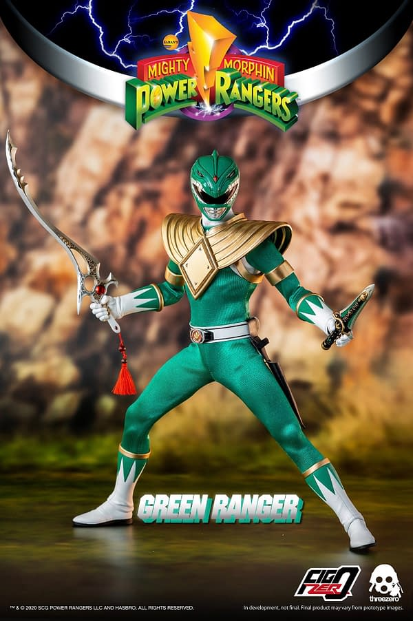 Tommy Oliver is Back with New Power Rangers threezero 12