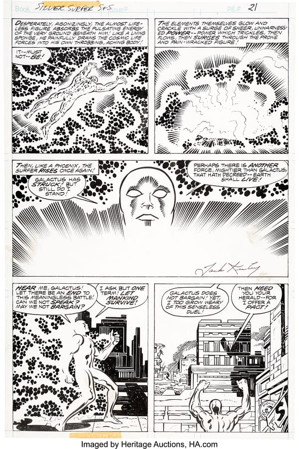 Jack Kirby Goes To Auction