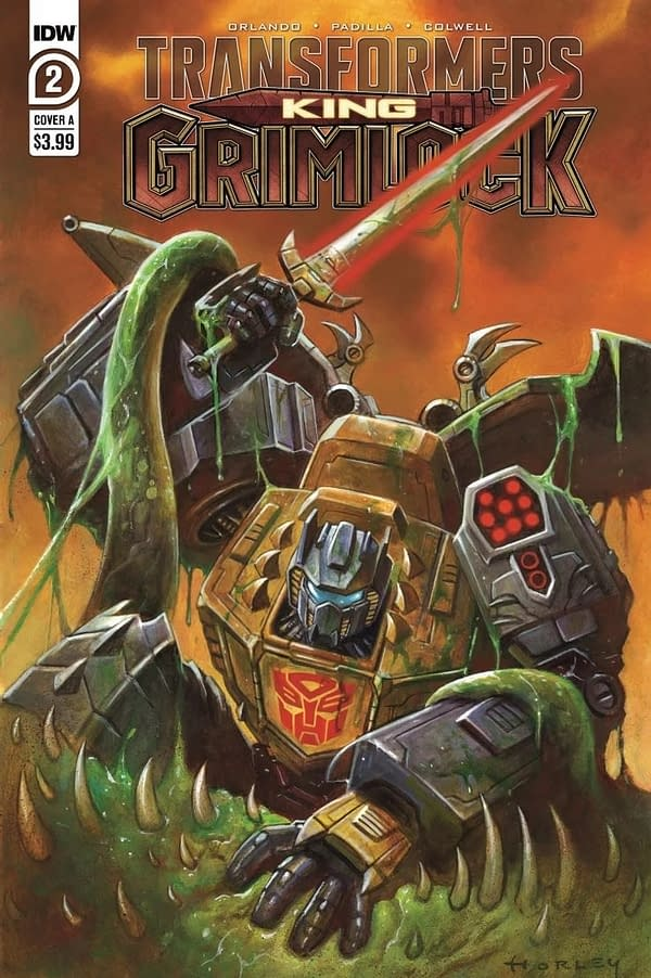 Transformers King Grimlock Issue 2 Cover A