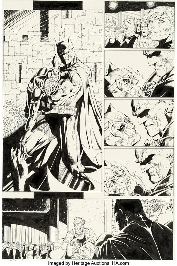 Jim Lee X-Men, Batman & The Boys Original Artwork At Auction