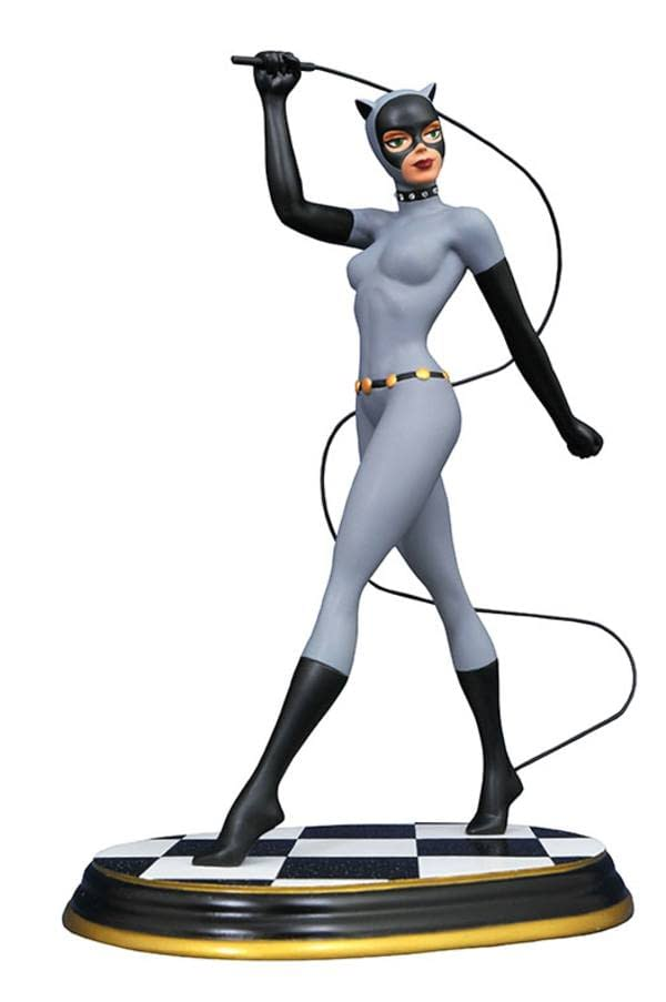 DC Batman The Animated Series Catwoman Gallery Statue SDCC Exclusive