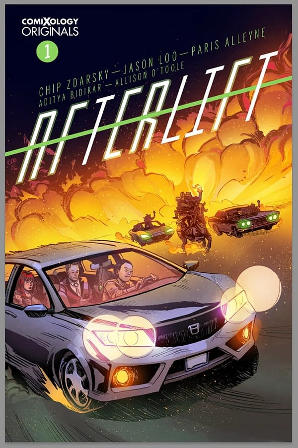 """Chip Zdarsky and Jason Loo Bring 5-Issue """"Afterlift"""" to ComiXology Originals"""