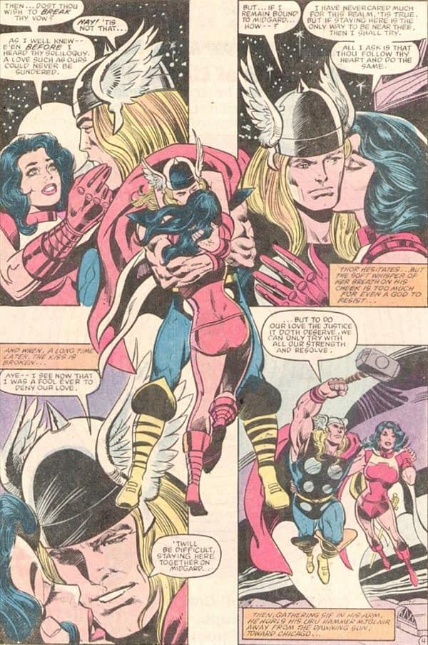 Separated, Kissing At Birth - Thor and Sif, Superman and Raja