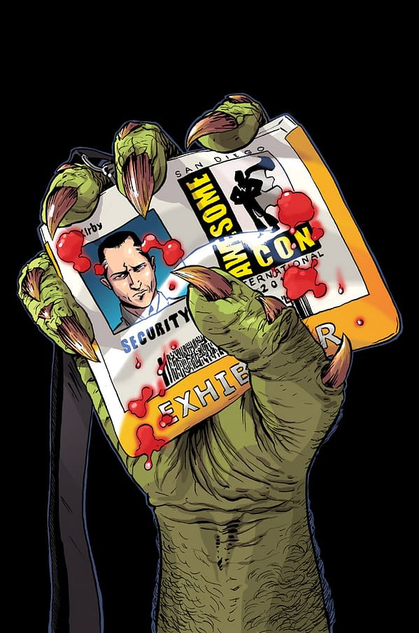 Scott Lobdell's Awesome At San Diego Comic Con