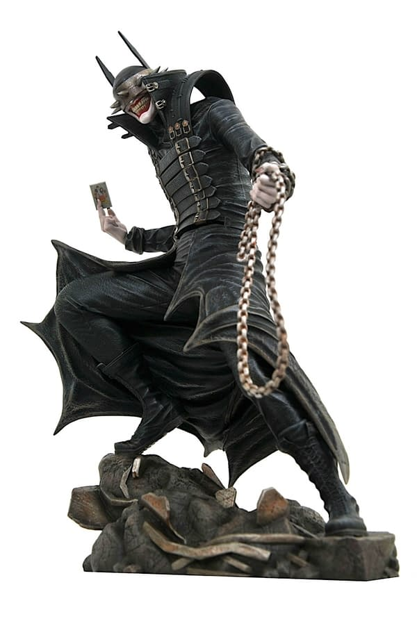 DC Comics Gallery Statues on the Way, Including The Batman Who Laughs