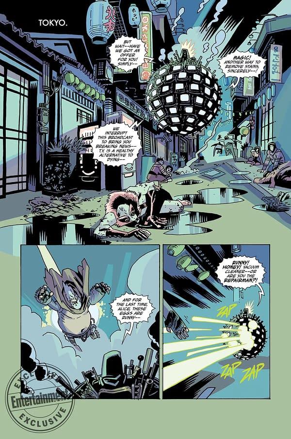 Gerard Way's Umbrella Academy: Hotel Oblivion Coming in October