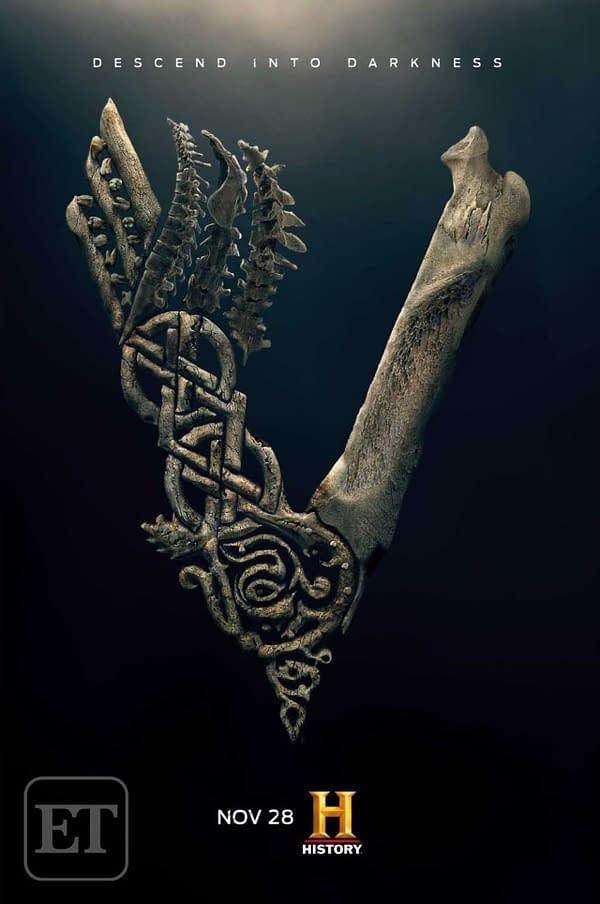 New Vikings Poster has Crowned [King] Ivar the Boneless