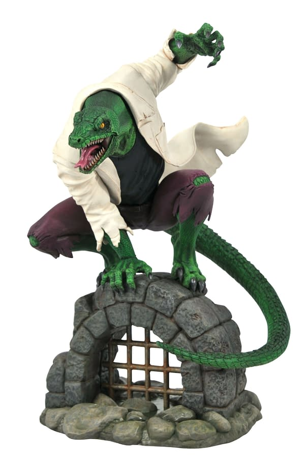 New Marvel Diamond Select Statues Include The Lizard and More