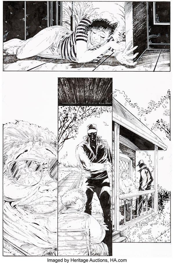 Todd McFarlane Spider-Man, Spawn and Batman Original Art at Auction