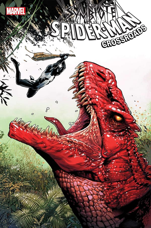 Cover image for SYMBIOTE SPIDER-MAN CROSSROADS #3 (OF 5)