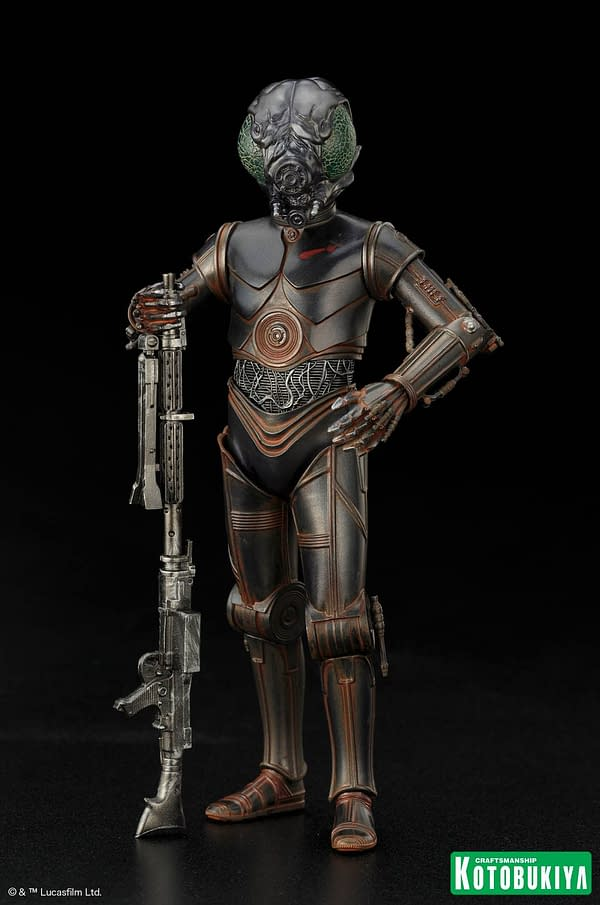 Kotobukiya Star Wars 4 Lom Statue 1