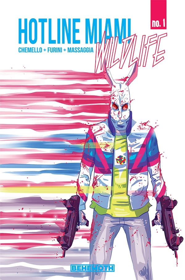 Hotline Miami Comic Launches in Behemoth September 2020 Solicitations.