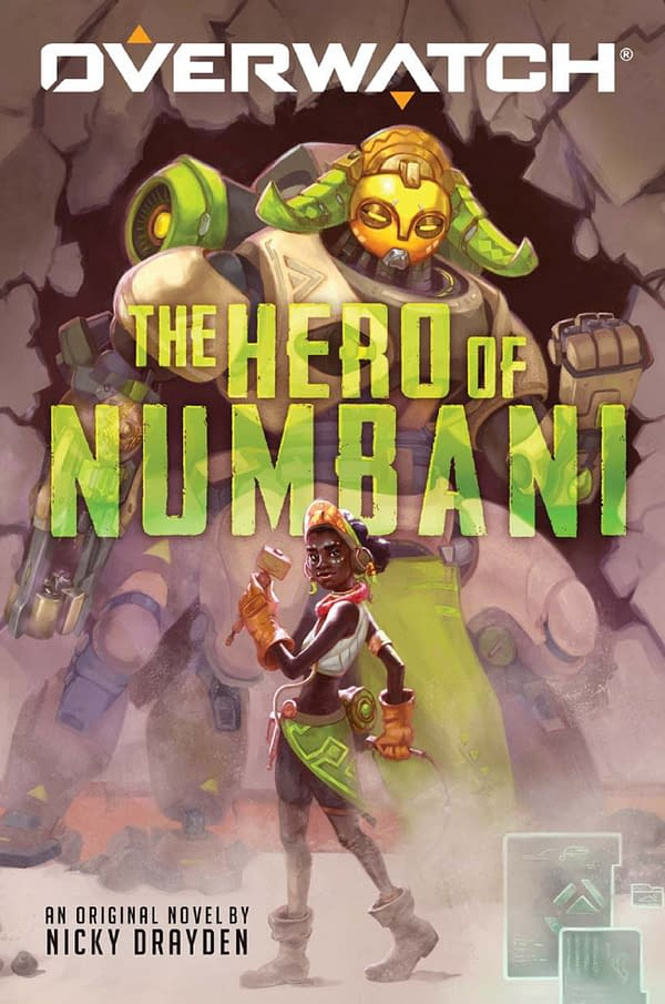Efi and Orisa take center stage in the new Overwatch book from Scholastic.