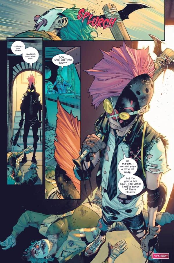 The Joker War Rewrites The Mark Of Zorro (Batman #96 Spoilers)