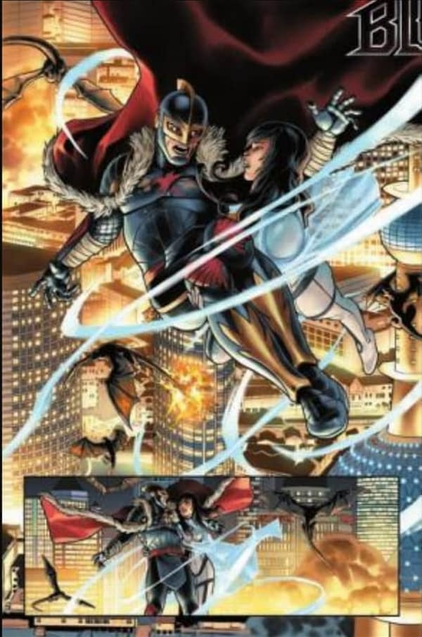 Four Page Preview Of King In Black #1 by Donny Cates and Ryan Stegman
