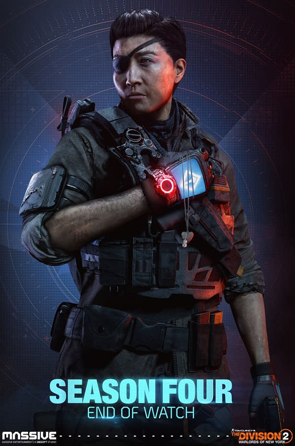 Faye Lau returns to The Division 2 for Season Four, courtesy of Ubisoft.