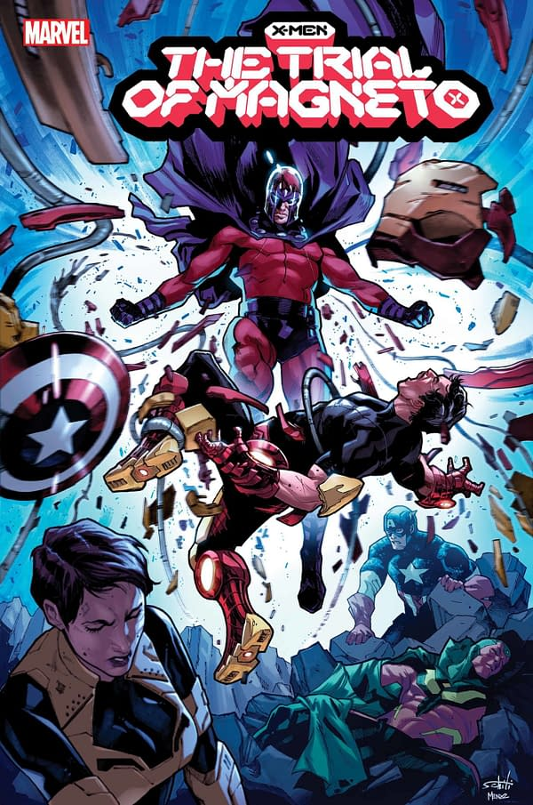 Cover image for X-MEN TRIAL OF MAGNETO #2 (OF 5)
