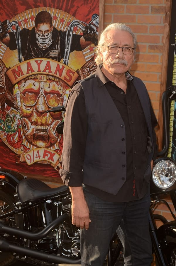 Edward James Olmos Talks 'Mayans MC': Violence, Family, Purpose