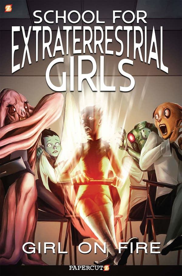 The School for Extraterrestrial Girls, a New Comic From Jeremy Whitley and Jamie Noguchi for 2020