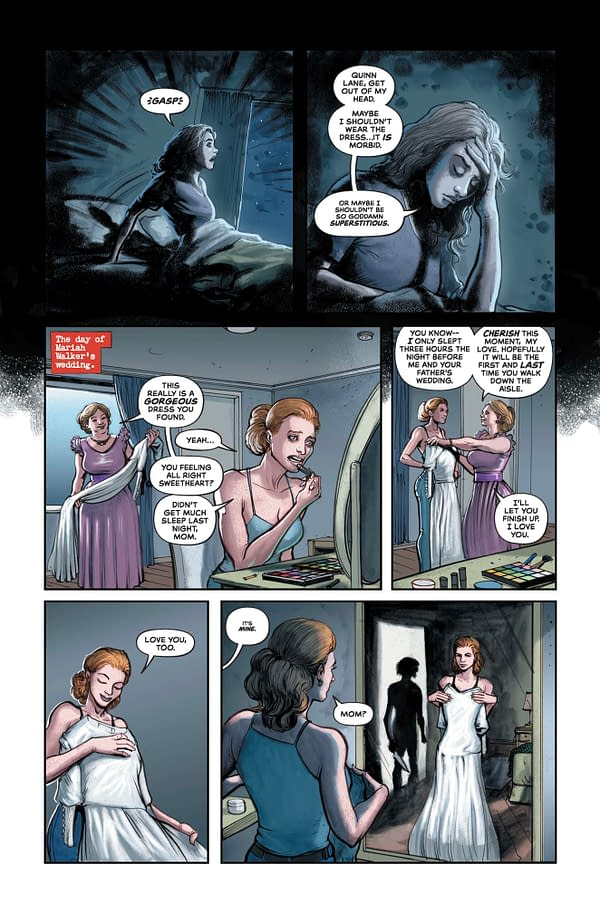 DC Comics Previews The Conjuring: The Love #2 With New Pages