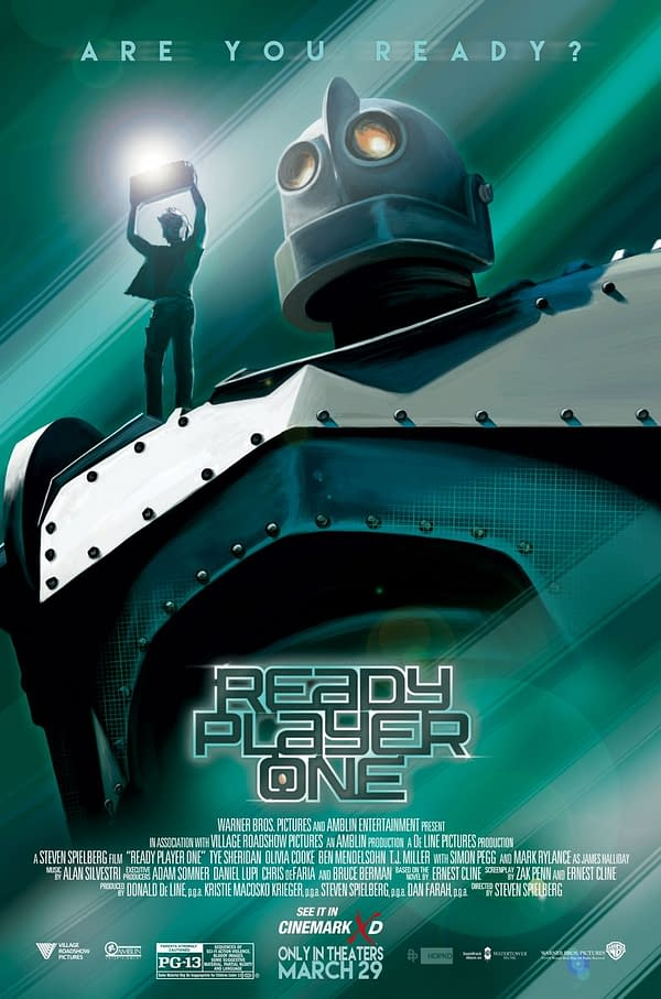 'Ready Player One' Releases 'Dreamer' Trailer, Yes There's Some New Footage