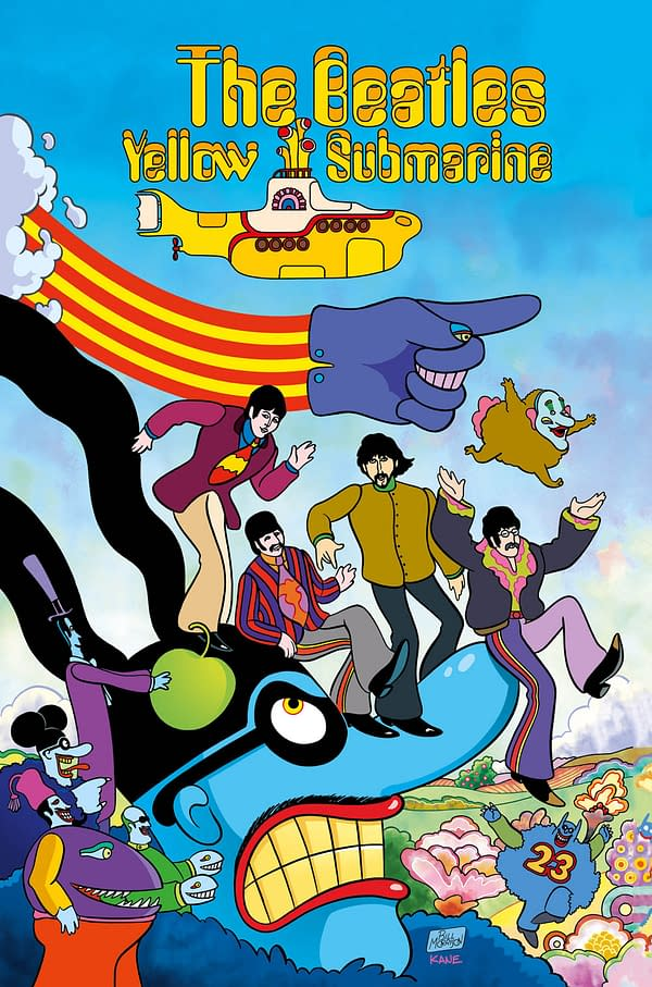 Watch the Trailer for Bill Morrison's Comic Book Adaptation of The Beatles' Yellow Submarine