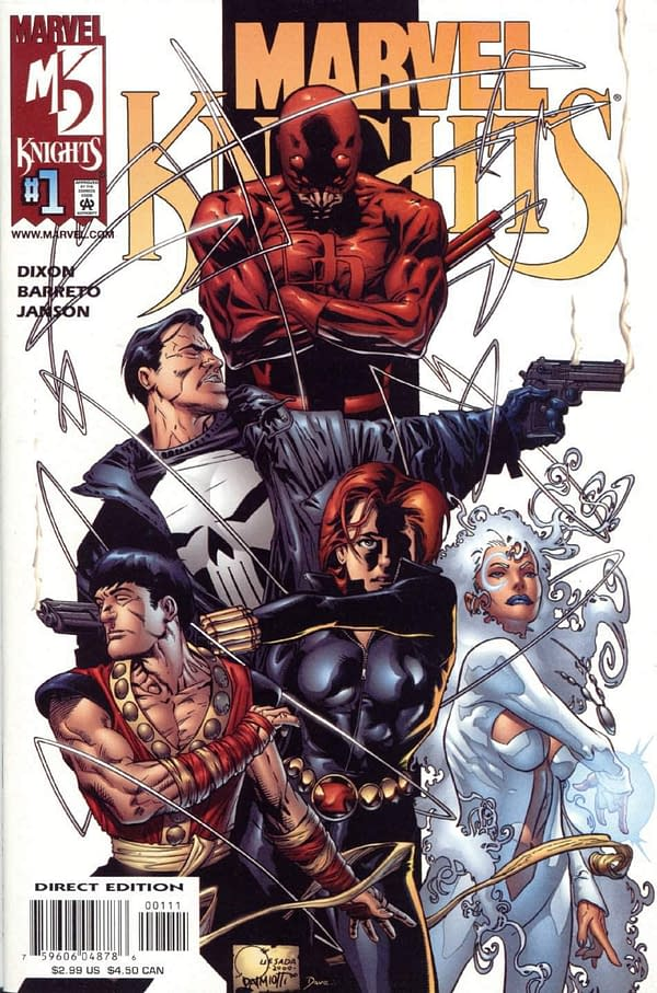 Marvel Knights Celebrates 20 Years with 15 'True Believers' $1 Comics in September
