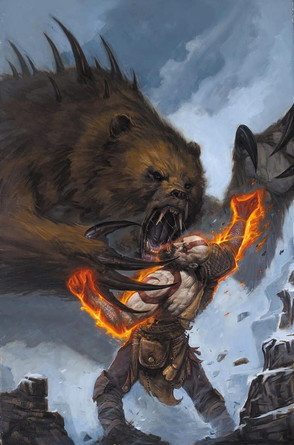 Dark Horse Reveals God of War Comic Book Mini-Series Launching in November