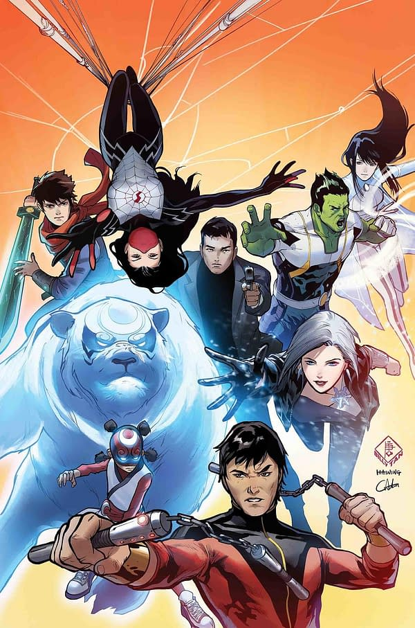 New Agents of Atlas Series Joins War of the Realms, by Greg Pak and Gang-Hyuk Lim