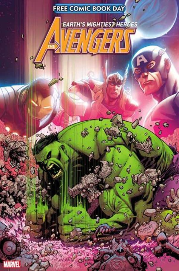 Avengers/Hulk & Venom/Spider-Man Details For Free Comic Book Day 2021