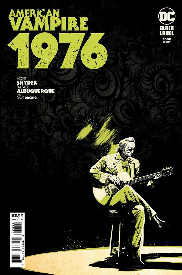 Cover image for AMERICAN VAMPIRE 1976 #8 (OF 10) CVR A RAFAEL ALBUQUERQUE (MR)