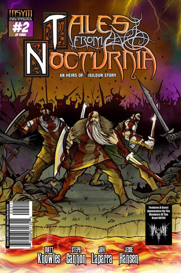 Tales from Nocturnia #2: Insymmetry Creations, creative team: Steph Cannon, Matt Knowles, Javi Laparra, Jesse Hansen