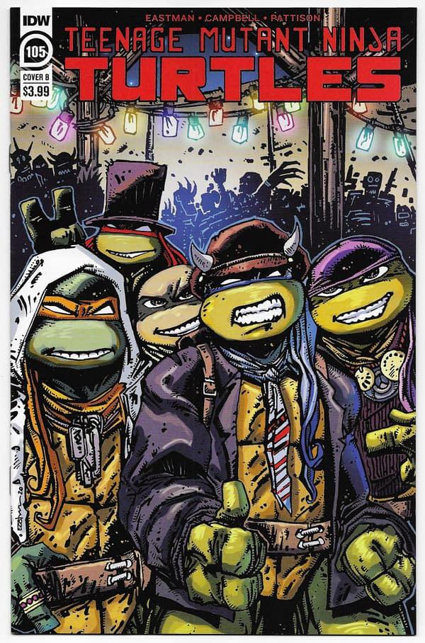 TMNT #105 Cover B