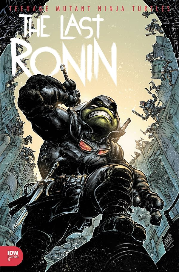 You'll Wait At Least 3 Months Between TMNT: The Last Ronin #3 And #4