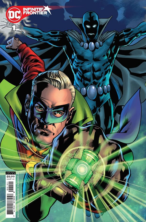 Cover image for INFINITE FRONTIER #1 (OF 6) CVR B BRYAN HITCH CARD STOCK VAR