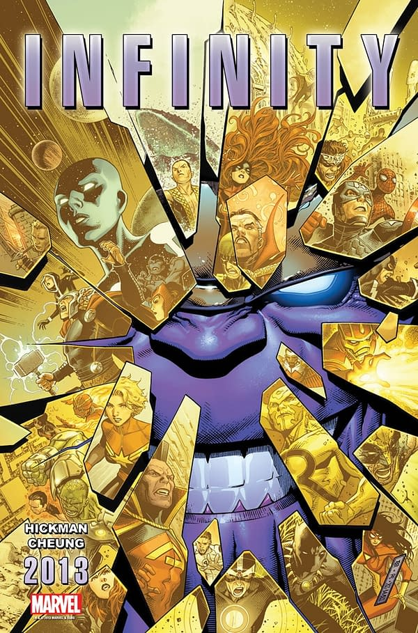 Marvel Launches Infinity Crossover From Hickman And Cheung For Free Comic Book Day