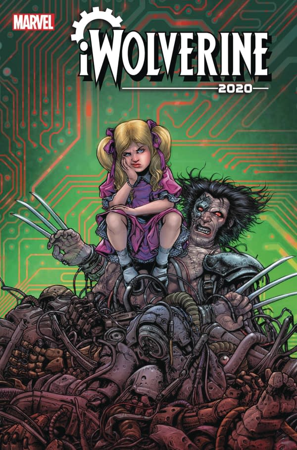 The cover to iWolverine 2020 #2