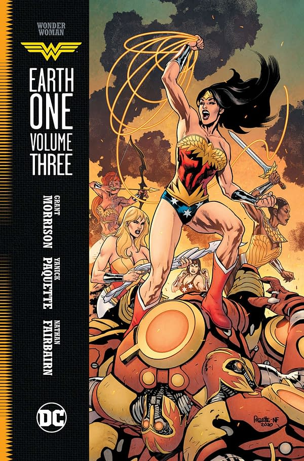 Wonder Woman: Earth One Vol 3 by Morrison and Paquette Leaks